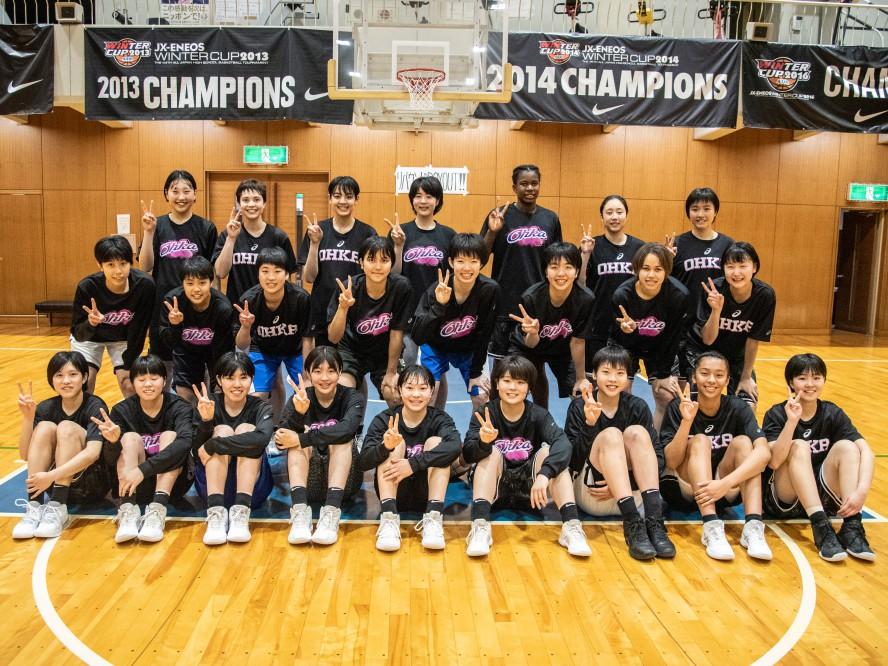 『全国学生フリースローチャレンジ』挑戦記vol.7 桜花学園「一日一日レベルアップしてもっと強い桜花学園に」