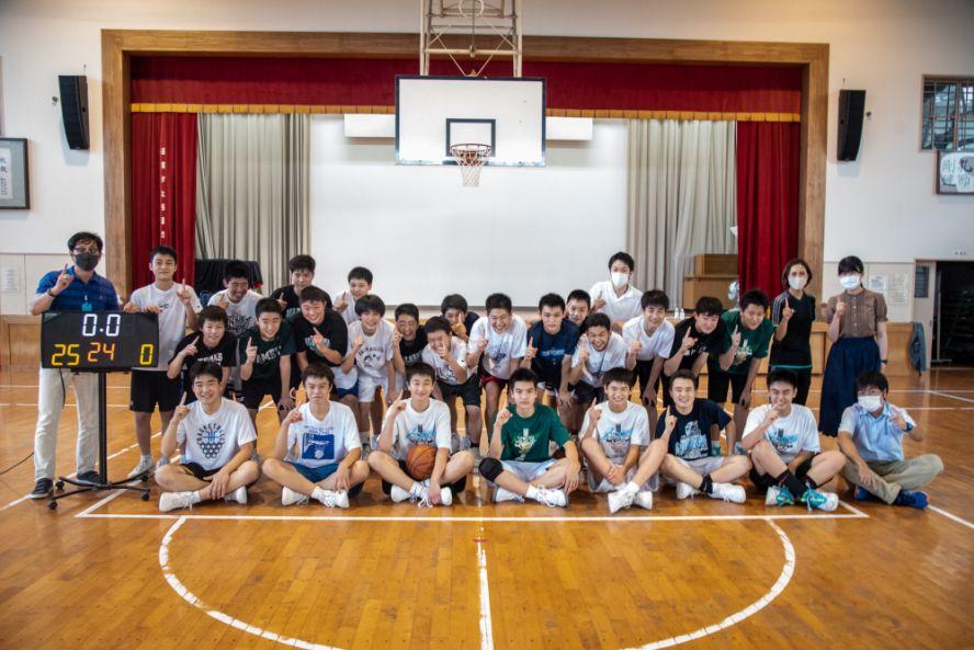 『全国学生フリースローチャレンジ』挑戦記vol.8 西福岡中学校「フリースローには自信が持てた、全国優勝したい」
