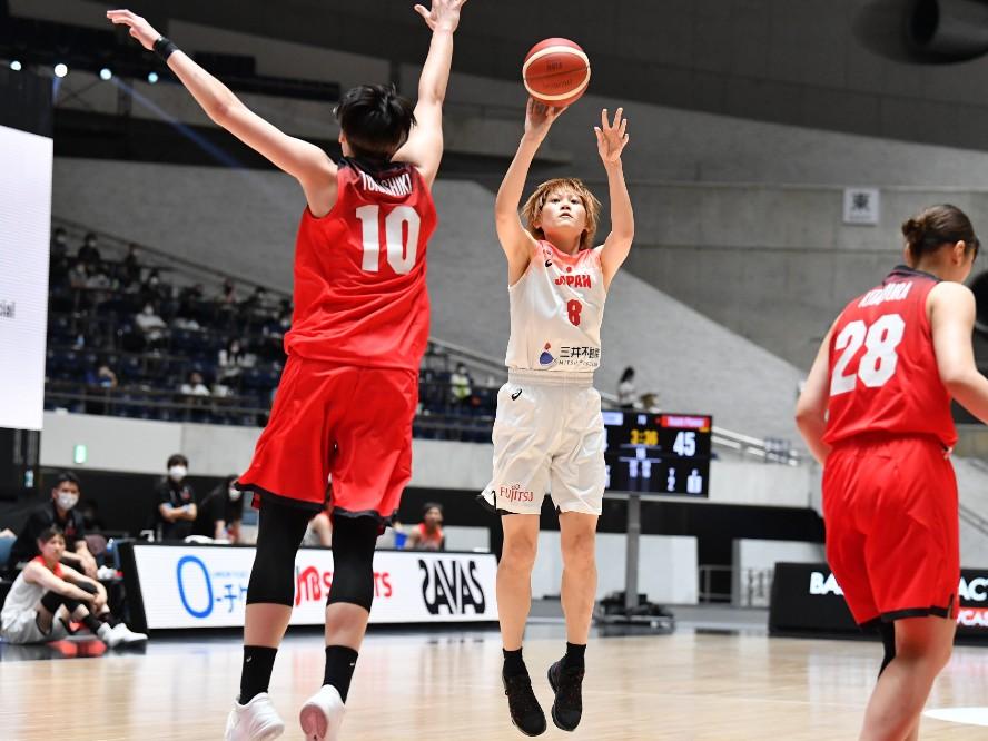 ハイレベルな打ち合いを見せた『5人制女子代表Showcase by三井不動産』、髙田真希は「女子らしいバスケットができた」