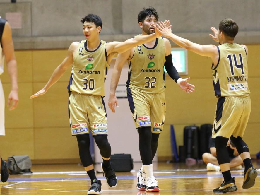 琉球ゴールデンキングスとサンロッカーズ渋谷が練習試合を実施、今村佳太「期待してもらっている部分はありがたい」