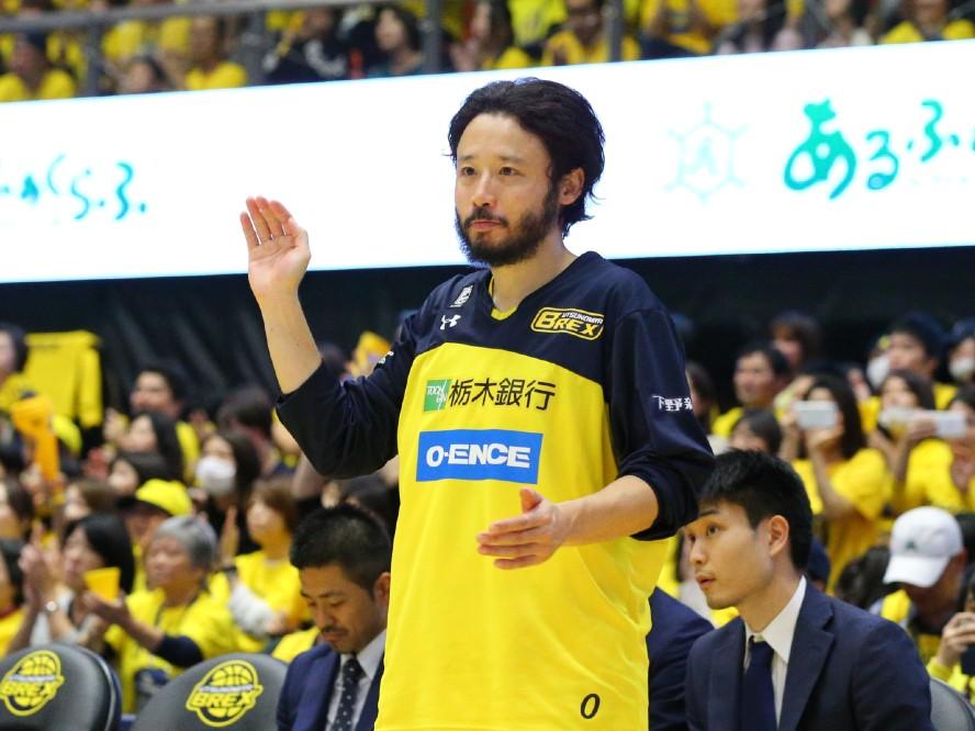 宇都宮ブレックス、左膝半月板断裂でリハビリを続けていた田臥勇太をインジュアリーリストから抹消