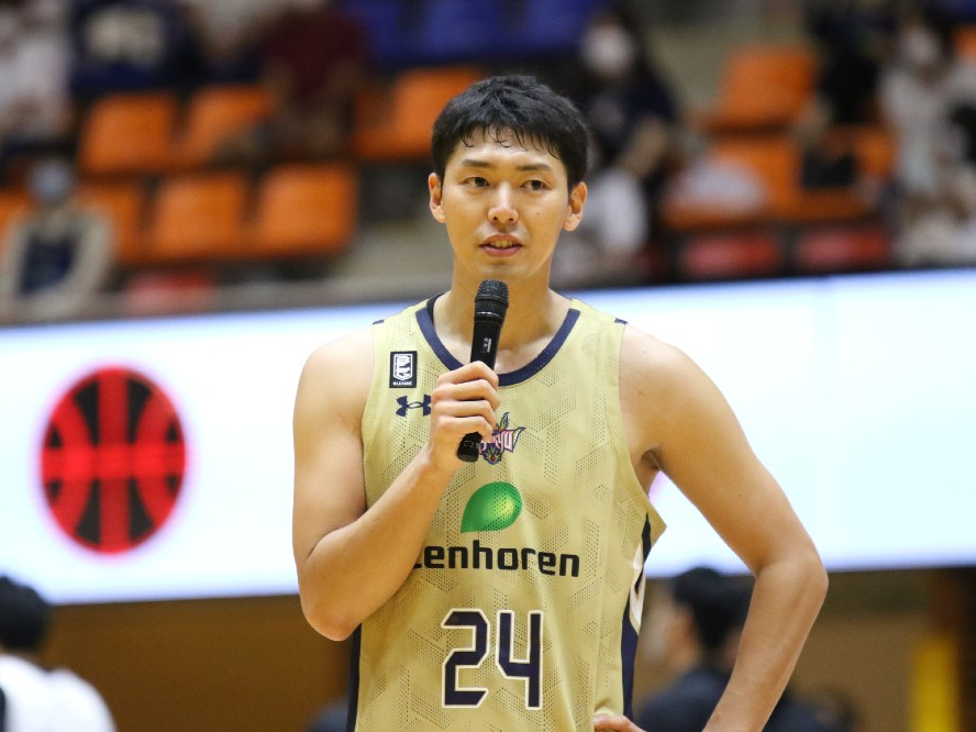 琉球ゴールデンキングスの文化を体現するキャプテン、田代直希「みんなの考えを尊重してチームで戦う」