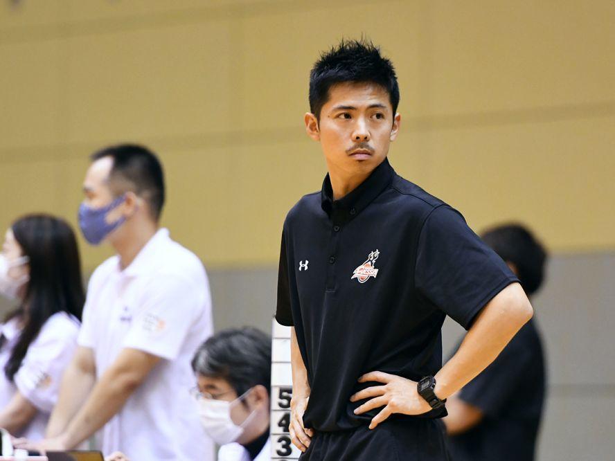 大阪エヴェッサの指揮を預かる竹野明倫ヘッドコーチ代行「速いテンポでプレーして、ボールも人も動かしたい」