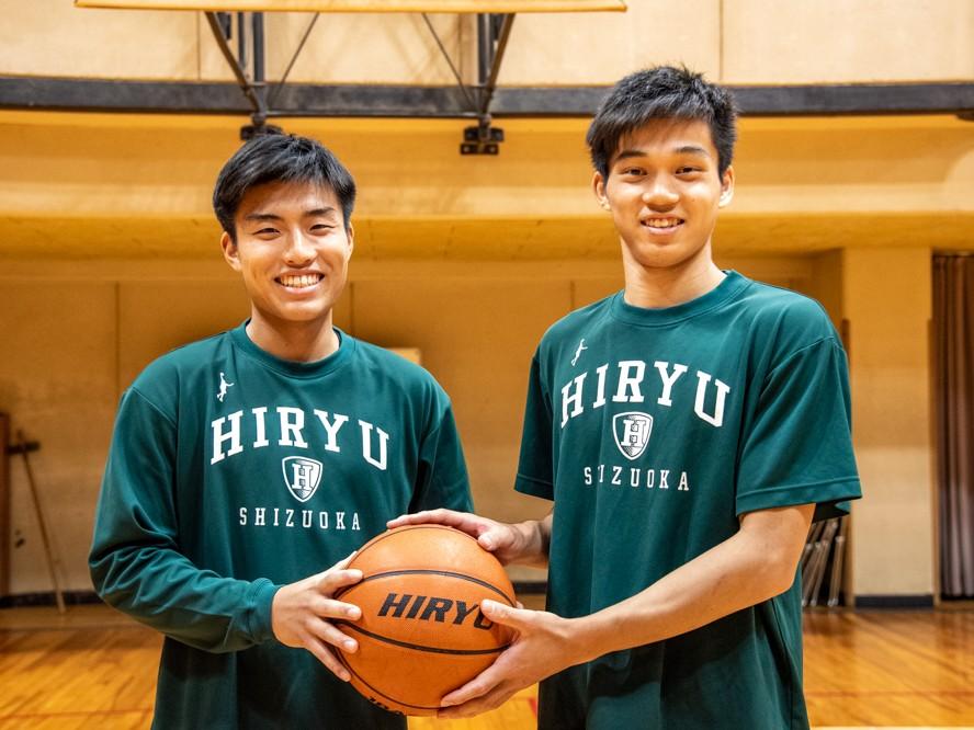 高校最後のウインターカップ出場を目指す飛龍高校の櫻井椋介&保坂晃毅「小さくても勝てるんだぞ、と証明したい」