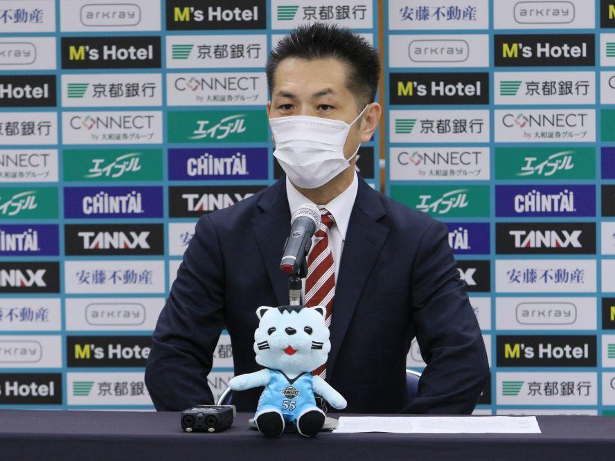いきなりの古巣対決に連勝、富山グラウジーズの浜口炎ヘッドコーチ「チャンピオンシップを目指したい」