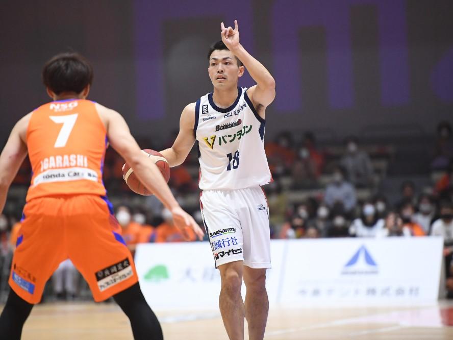 横浜ビー・コルセアーズの森井健太が振り返る開幕節「チームを勝たせるために何をすべきかが出た試合」
