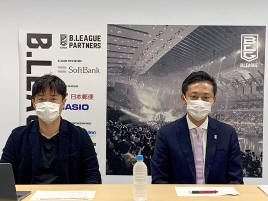 コロナ下でのBリーグは無難にスタート、島田慎二チェアマンは「我々のコロナ対策に非常に協力的」とファンに感謝