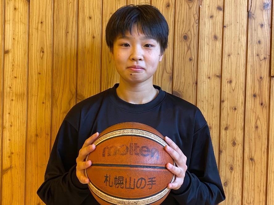 札幌山の手、点取り屋の系譜を継ぐセンターの舘山萌奈「チームが苦しい時は自分が絶対にインサイドで点を取りたい」