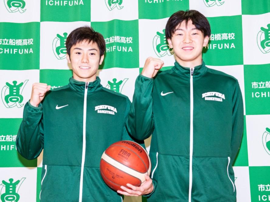 市立船橋、昨年の悔しさを知るキャプテン田中晴瑛とエースの市場脩斗「市船らしいバスケットを」