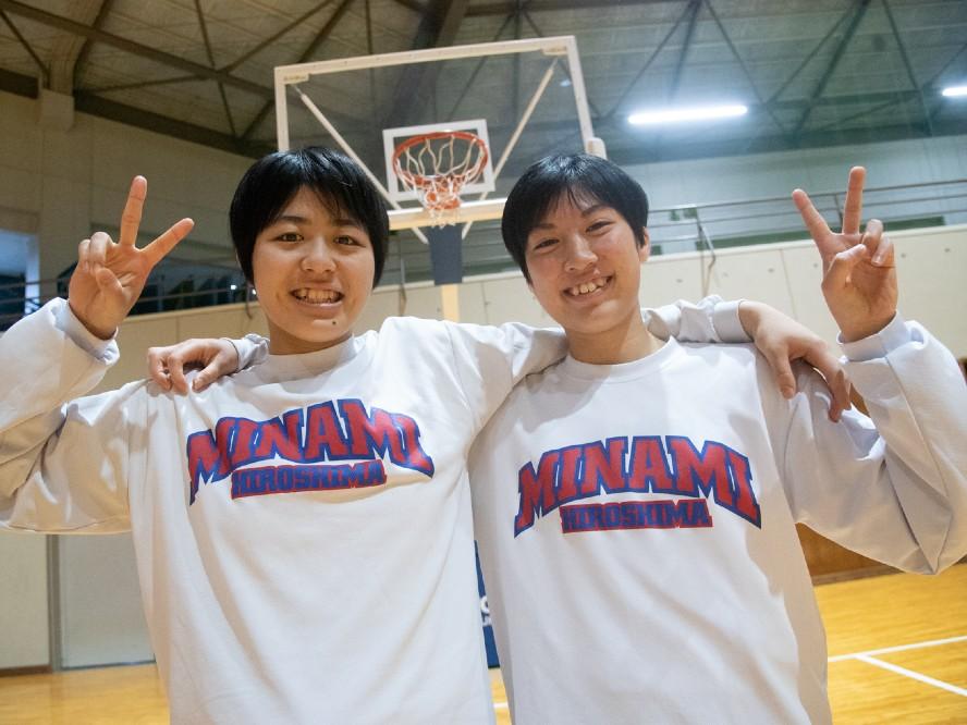 粘り強いバスケでウインターカップに挑む広島皆実、丸山愛友&小西里奈「身長が低くてもベスト8に進むチームはいる」