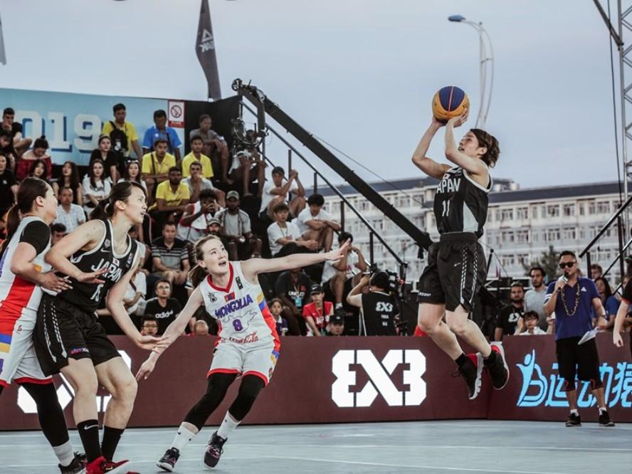 3人制バスケ『3x3』女子日本代表が東京オリンピック出場に向けて始動、篠崎澪「日本全体でレベルアップできれば」