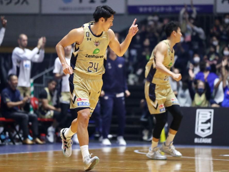 ケガ人が相次ぐも8連勝中の琉球ゴールデンキングス、田代直希は「しっかり戦えたのは僕たちの財産」と手応え