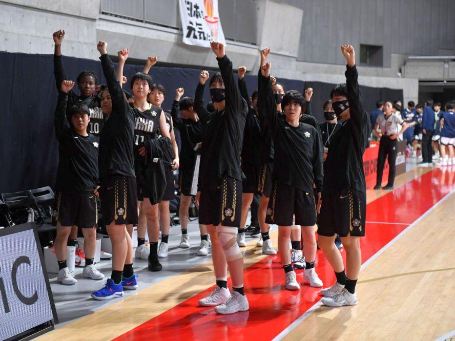 優勝候補の実力を見せ付ける桜花学園が県立徳山商工に大勝、大黒柱のアマカは「今年は去年よりも強い」