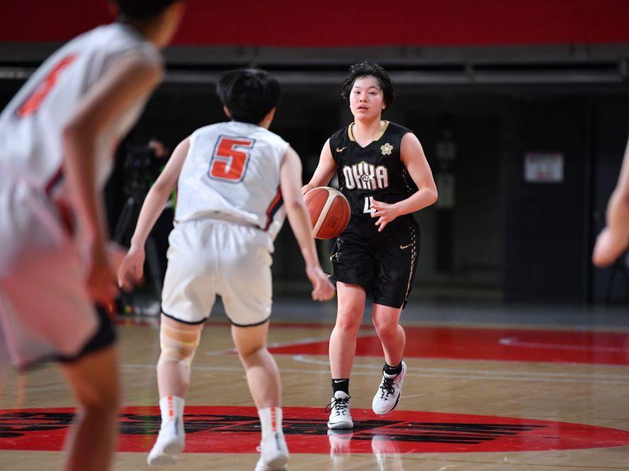 146得点を奪う圧勝劇の桜花学園、キャプテンの江村優有はまさかの反省「150得点を達成できなかった」
