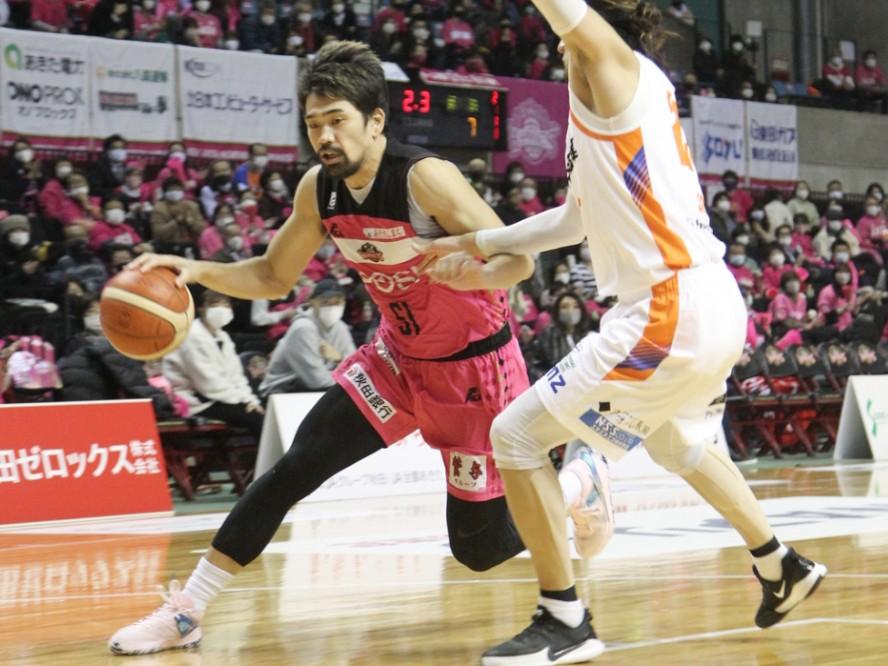 秋田ノーザンハピネッツの古川孝敏、復帰戦で22得点を挙げるも勝利ならず「やられたくないやられ方をした」