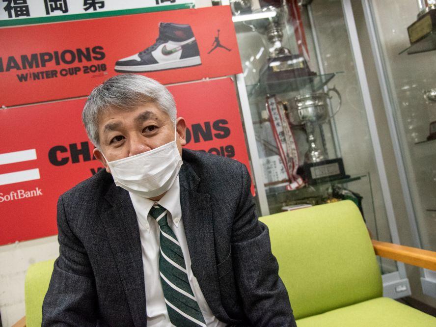 『バスケ王国』福岡の誇り、福岡第一を率いる井手口孝コーチ「もちろん、最後は大濠とやりたいです」