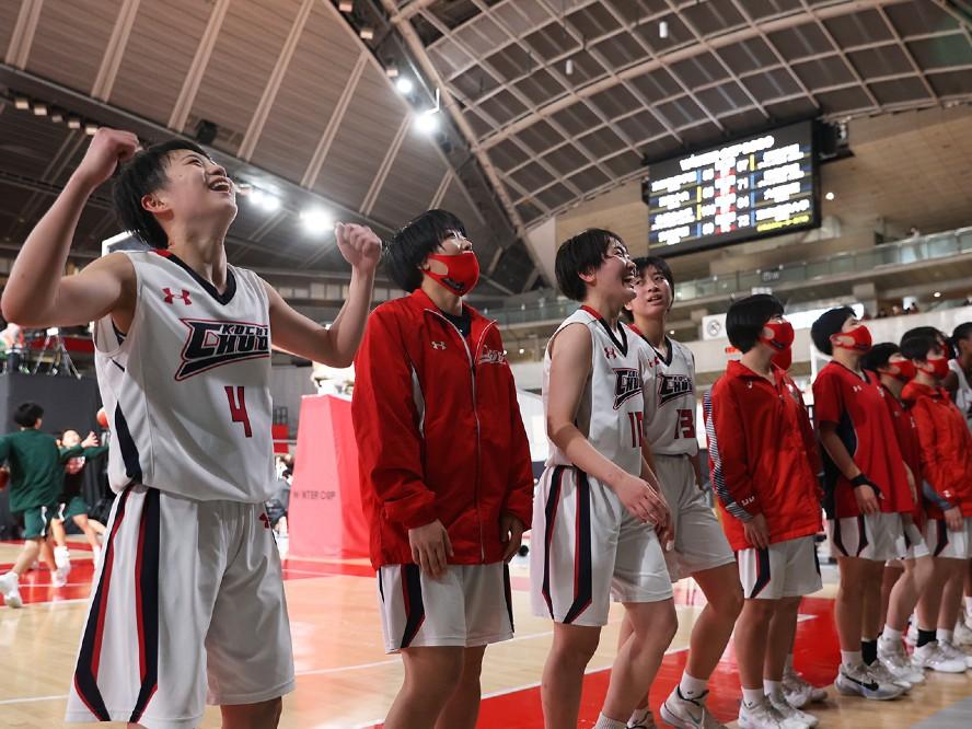 高知中央が昭和学院を破り初のベスト4進出、キャプテンの井上ひかる「自分たちを信じてやってきた」