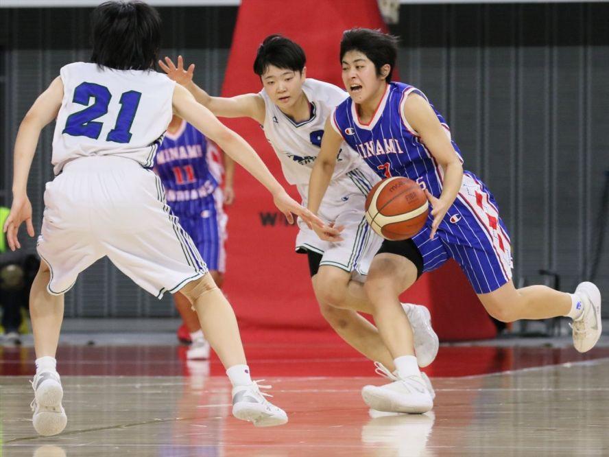 小さな広島皆実は白鴎大学足利のバスケを超えられず、エースの丸山愛友「本番でできなくて、悔いしかありません」