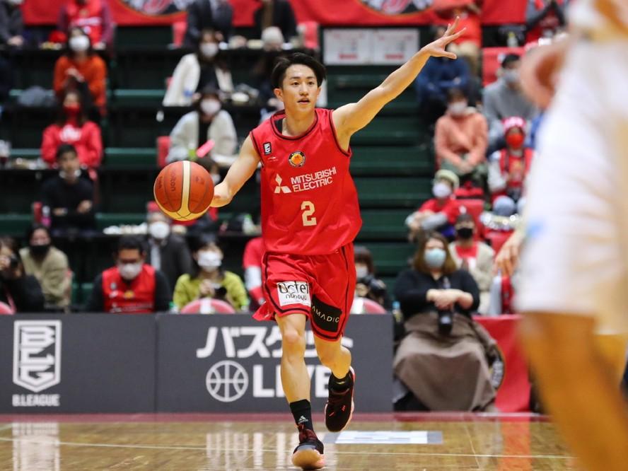 名古屋D、齋藤拓実が三遠戦で得た手応えと課題「強豪相手にも今日のようなプレーを続けられるように」