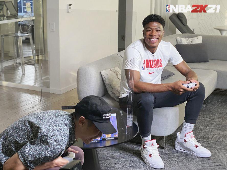 八村塁が『NBA2K』で人気Youtuberと対決、シーズンハイ30得点の「ゲームが現実を超える」瞬間を目指す