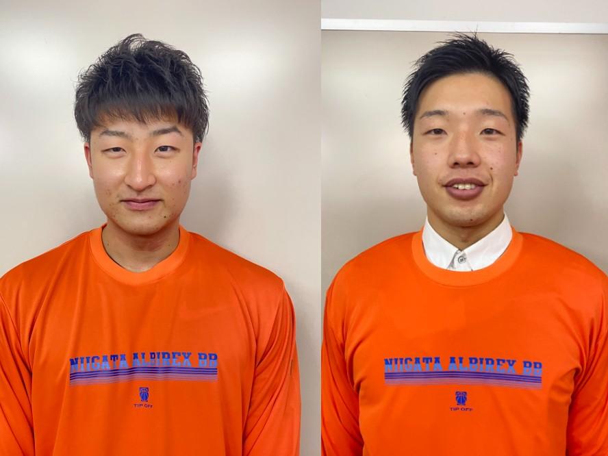 新潟アルビレックスBB、法政大の水野幹太と東海大の西田優大を獲得「チームに貢献出来る様に頑張ります」