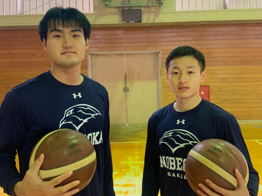延岡学園を支える木下岳人&ポーグ健、ウインターカップのベスト4進出に向け「ドンと来い!」と自信満々