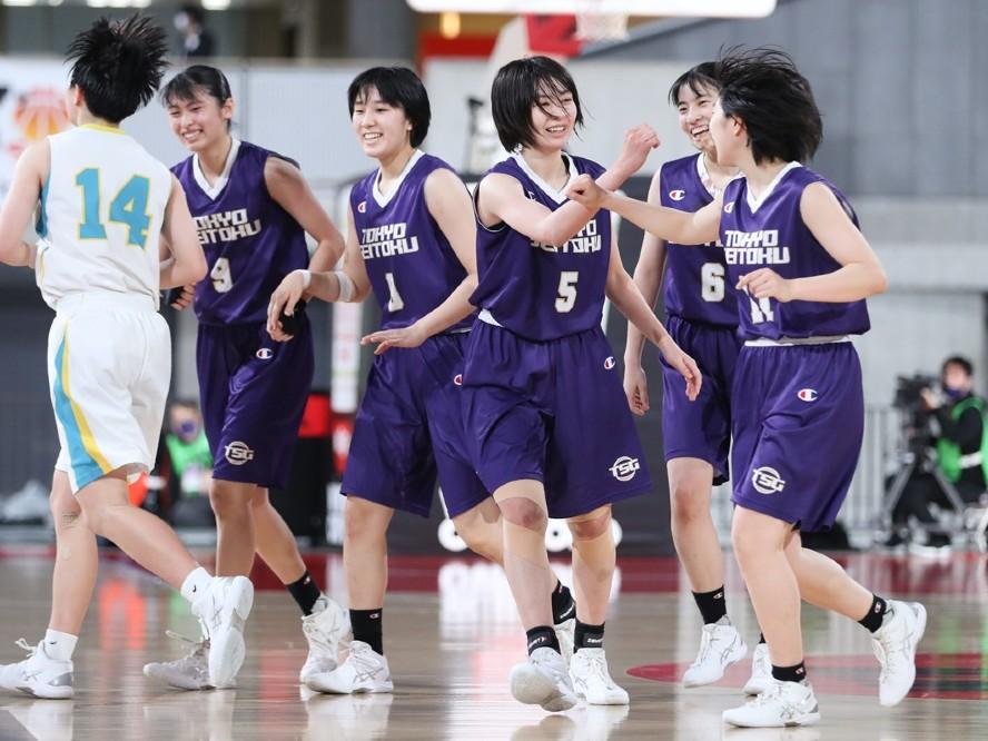 シュート力と選手層で上回った東京成徳大学、札幌山の手との点の取り合いを制し11年ぶりの決勝の舞台へ