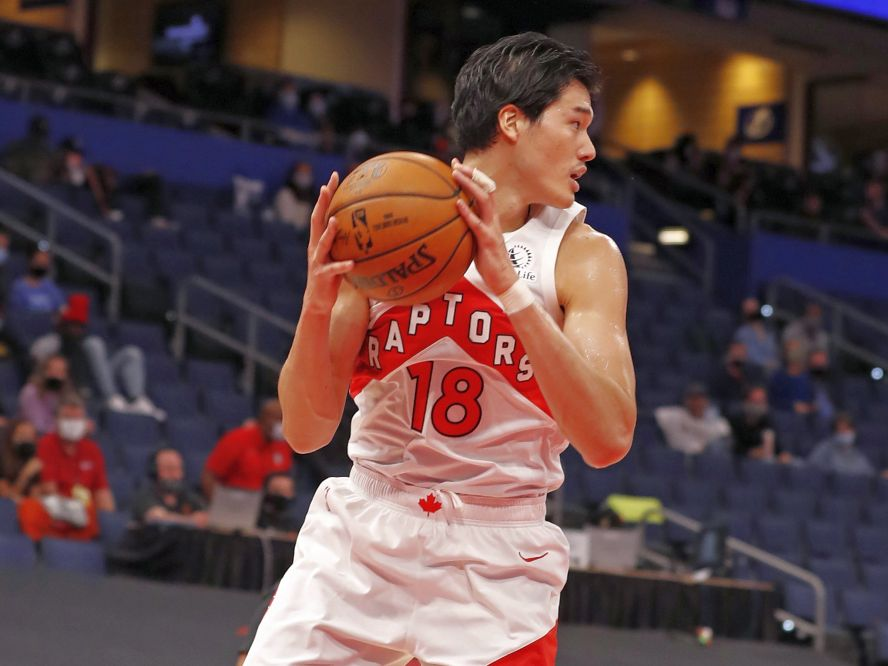 ラプターズのプレシーズン3試合が終了、開幕ロスター入り当落線上にいる渡邊雄太は『14番目の選手』?