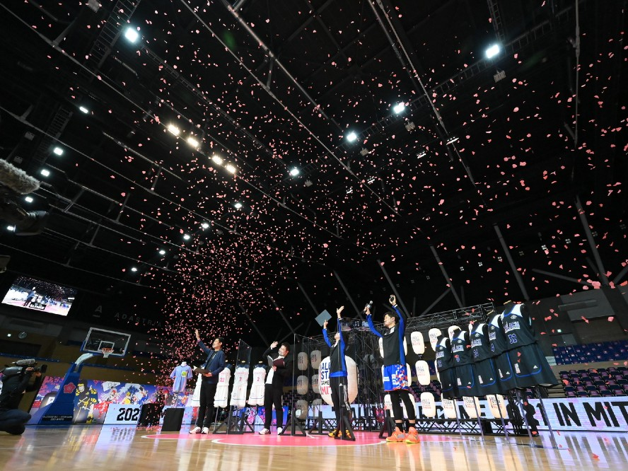 Bリーグが『オンラインコンテスト』を開催、金丸晃輔は3年連続で『3ポイントコンテスト』優勝