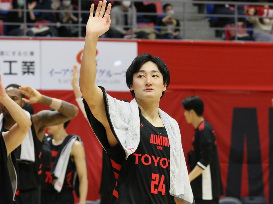 苦戦が続くアルバルク東京、中核を担う田中大貴「メインの選手がもう1段階上のパフォーマンスを」