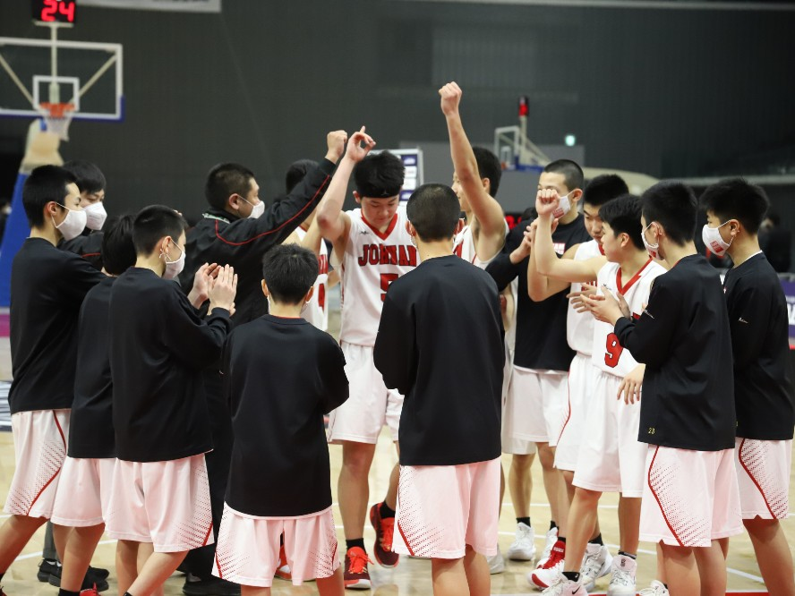 秋田市立城南中学校、高さとチーム力でNLG INFINITYを上回り『Jr.ウインターカップ』初代王者に