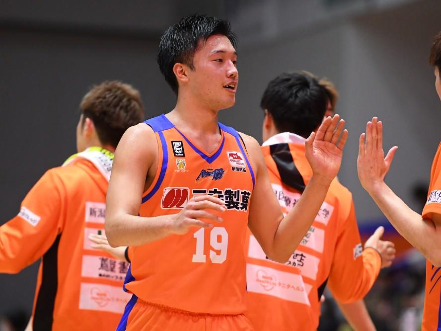 新潟アルビレックスBBでプロキャリアをスタートさせた西田優大「恥をかくようなプレーはできない」