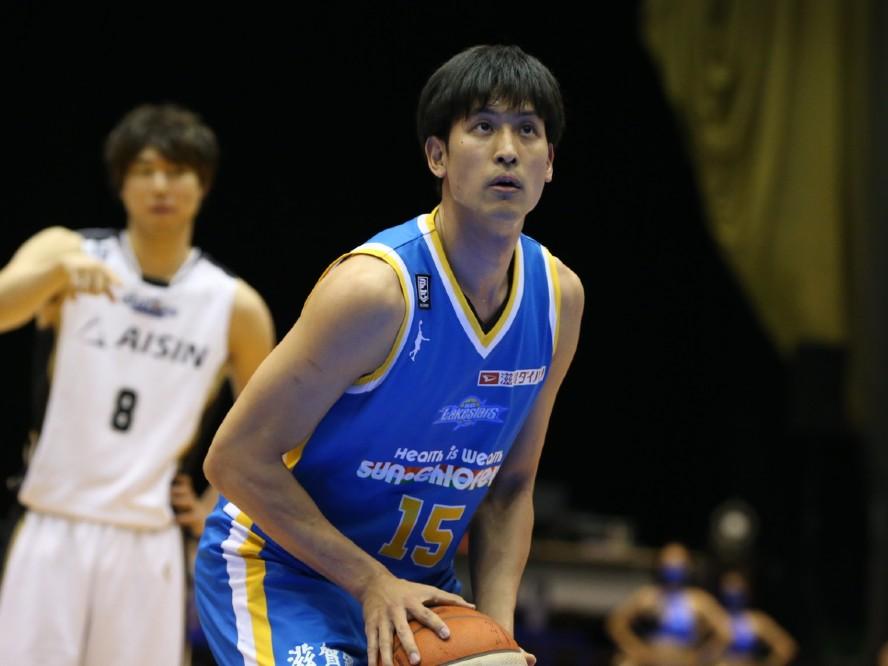 滋賀レイクスターズの谷口光貴が香川ファイブアローズへ期限付き移籍「チームを離れる決断をしました」