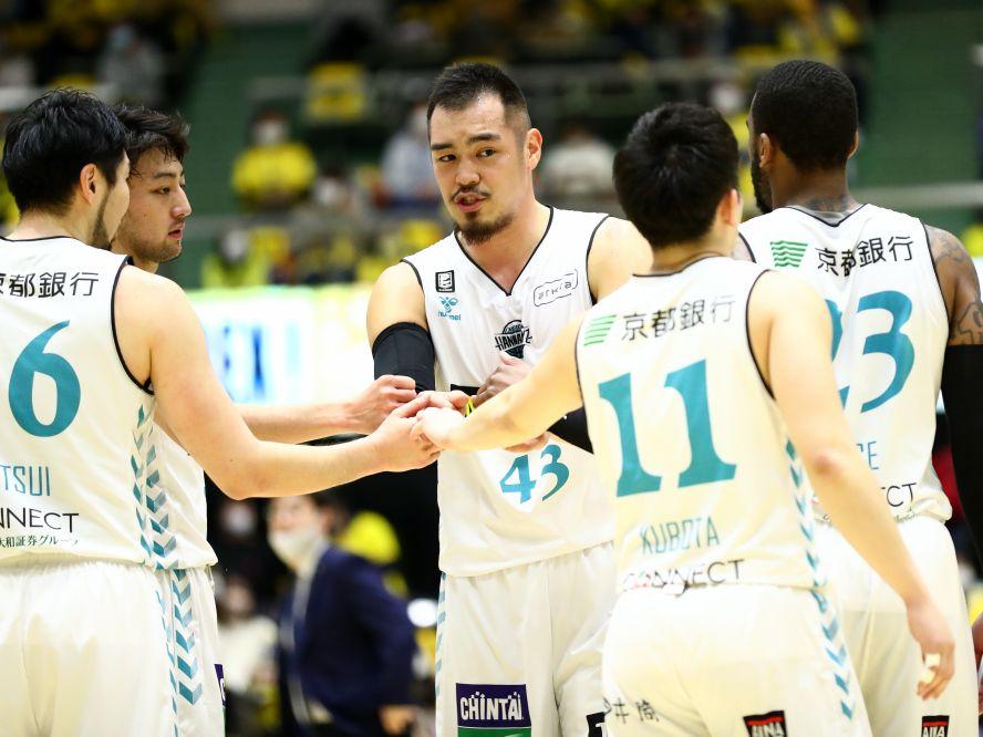 永吉佑也は宇都宮の強力インサイド陣に奮闘、京都ハンナリーズの成長に手応え「戦える集団になってきている」
