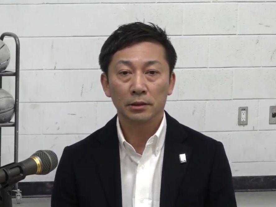 Bリーグの島田慎二チェアマンが、アジアカップ予選を巡る状況を説明「難しい状況での判断は支持しなければならない」