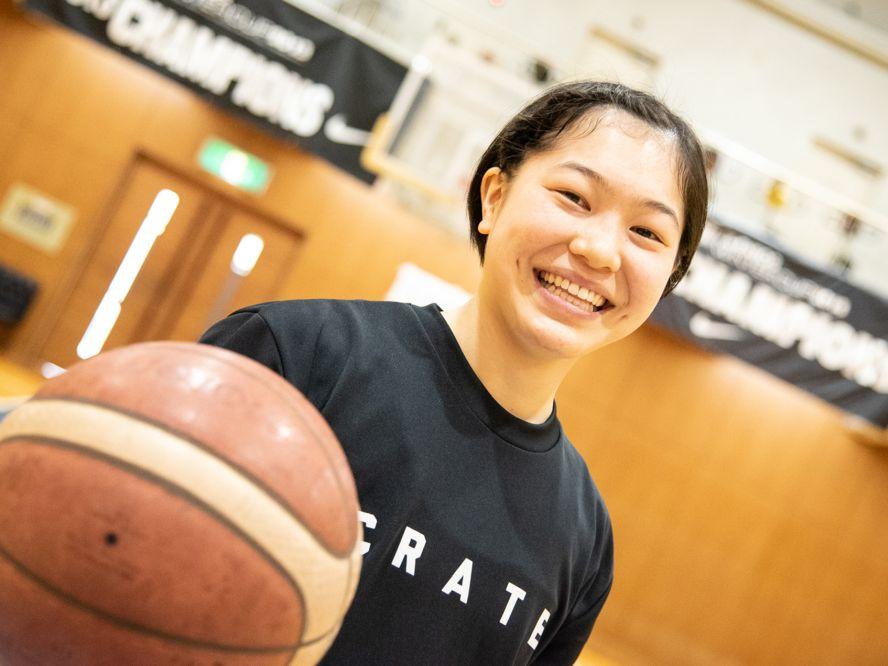 高校バスケ界のスター選手、江村優有は桜花学園を卒業して早稲田大へ「もっとバスケを学びたい」