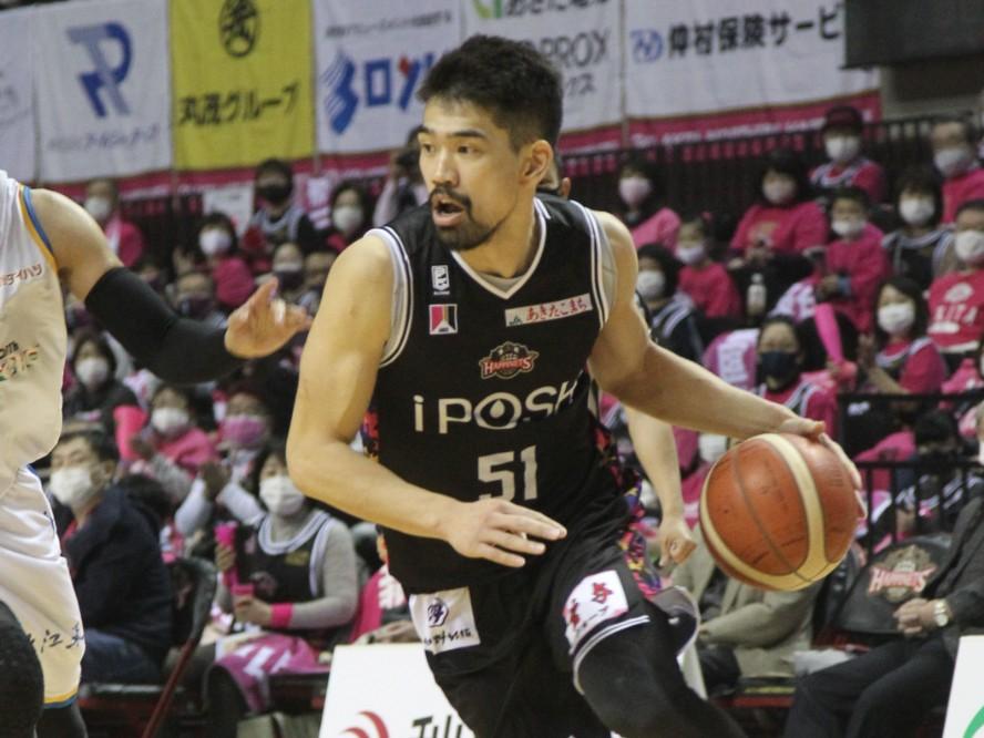 チームバスケットにこだわる秋田ノーザンハピネッツの古川孝敏「みんなが一つになって、チームで勝つことが大事」