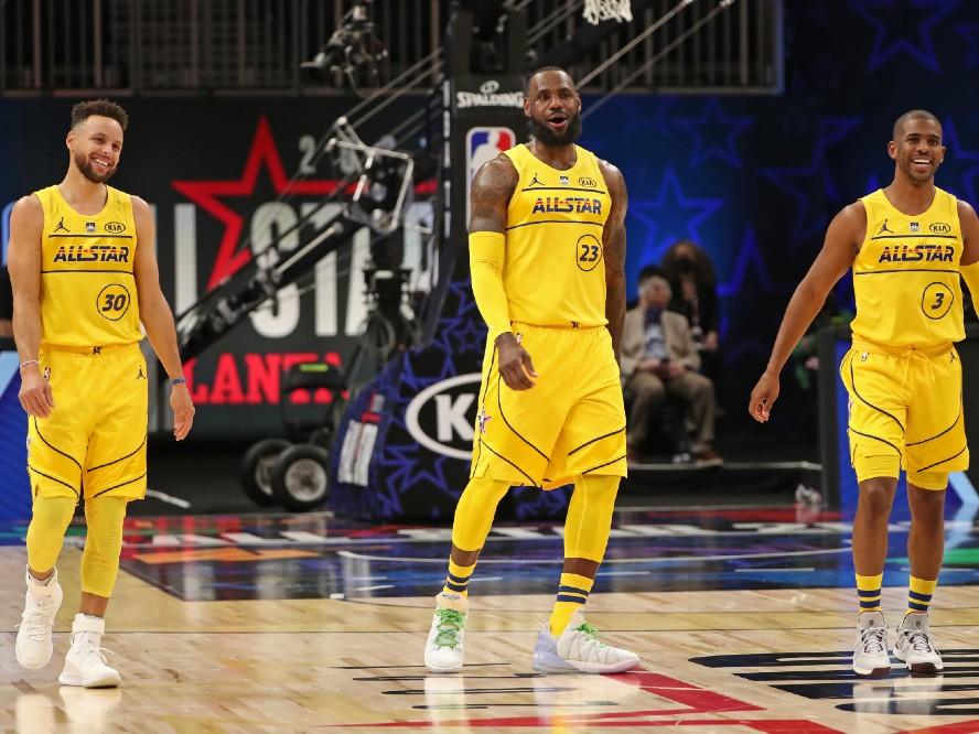 NBAオールスターゲームで4年連続勝利となったレブロン・ジェームズ、今後の目標は『息子との共演』と『NBAへの恩返し』