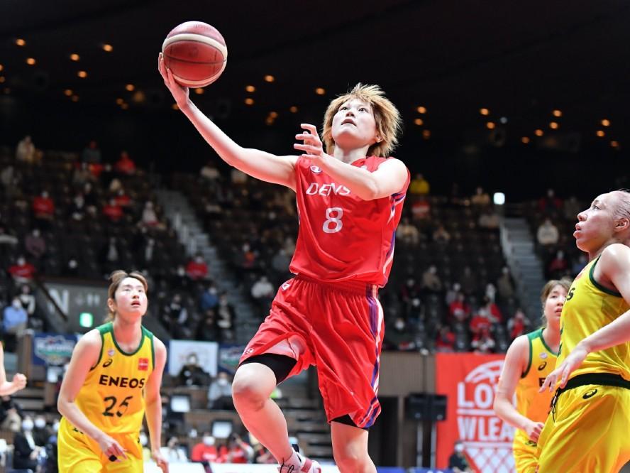 デンソーは奮戦一歩及ばず『女王』ENEOSに先勝を許す、髙田真希「自分たちが目指すバスケを40分間やらなければ」