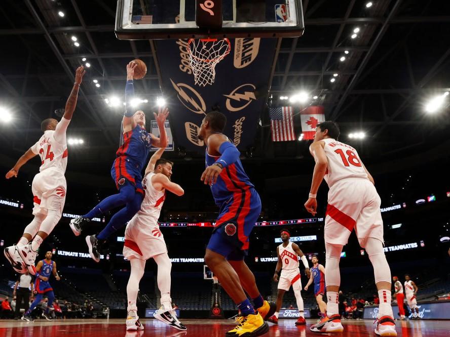 NBAキャリア初先発を果たしたラプターズの渡邊雄太、後半に積極性を見せるも無得点に終わり最大のチャンスを生かせず