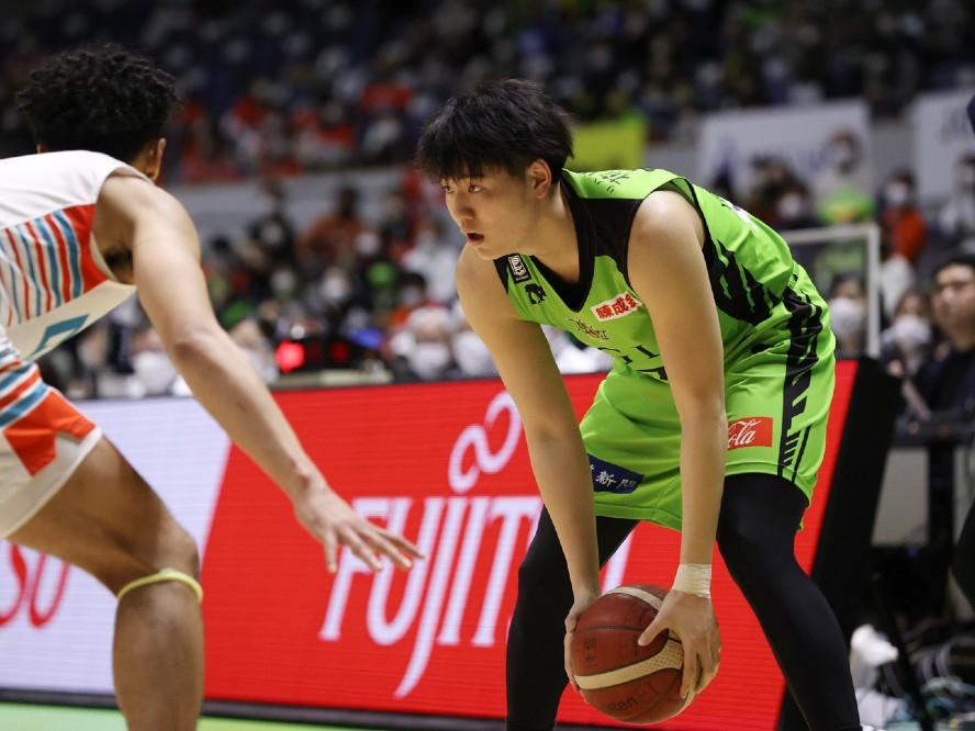 レバンガ北海道、特別指定の山口颯斗と2021-22シーズンの選手契約を締結「よりチームの中心選手となって貢献できるように」