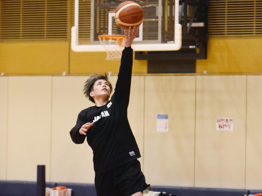 今シーズンの活躍が認められ、オリンピックへのチャンスをつかんだバスケ日本代表の安間志織「私らしくやっていけたら」