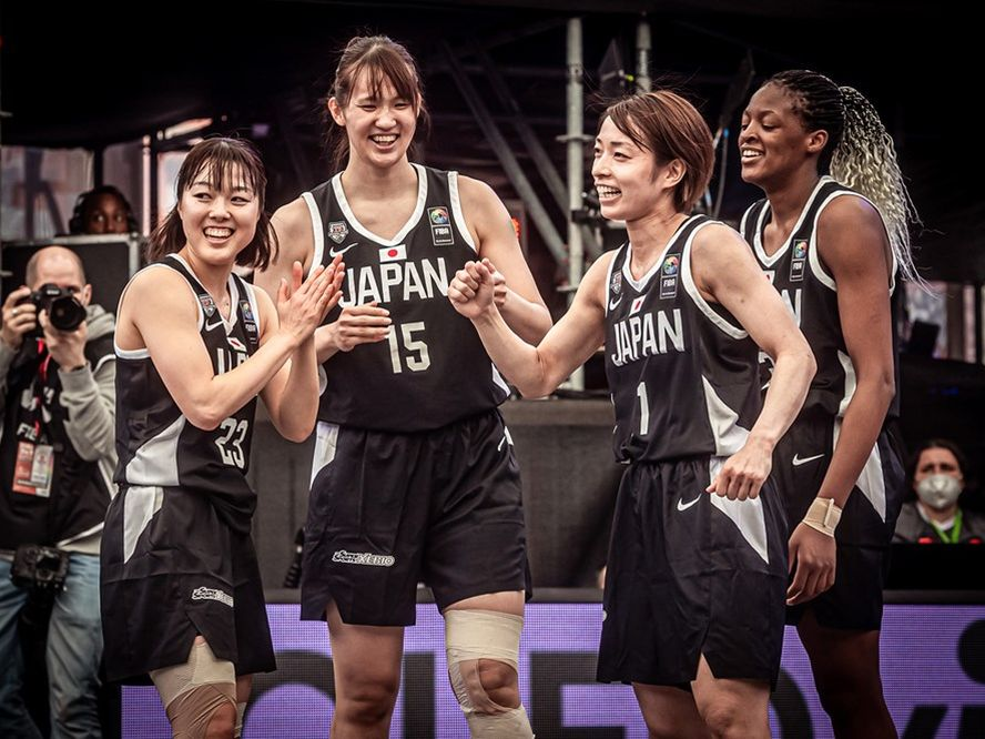 3人制バスケ『3x3』女子日本代表がオリンピック予選で好発進、山本麻衣「2試合ともノックアウトで勝つことができてよかった」