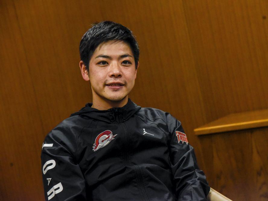 大物ルーキーを加えて新チームとなった福岡大学附属大濠、片峯聡太コーチ「勝ちにこだわる、やり続ける姿を見せてほしい」