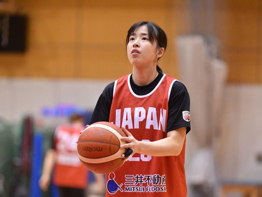 バスケ女子日本代表、3ポイントシュートを武器にサバイバルレースに臨む三好南穂「メンタルを強く持ってやっていきます」
