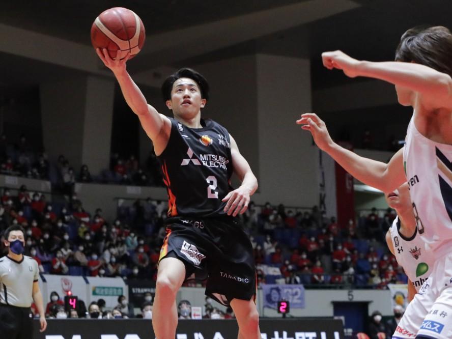 最終戦でシーズンハイの27得点を挙げた名古屋Dの齋藤拓実「来シーズンはもっともっと理想のポイントガードに」