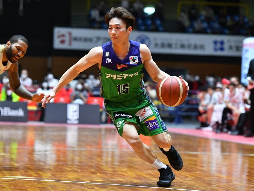 京都ハンナリーズが三遠で5シーズンを過ごした鈴木達也を獲得「自慢の上腕二頭筋とアシストで魅せられるように頑張ります」
