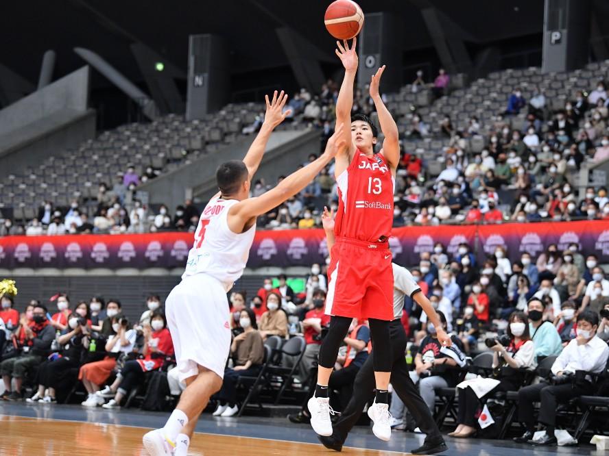 積極的なプレーで存在感を発揮したバスケ日本代表候補の安藤周人「このイラン戦が最後のチャンスだと思っている」