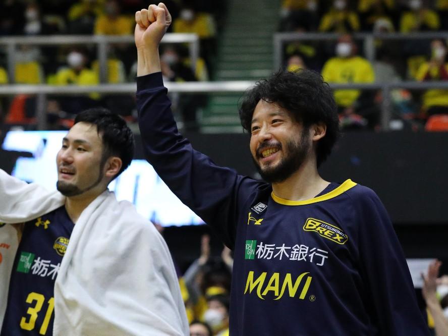 宇都宮ブレックスが田臥勇太を含む4選手との契約継続を発表「感謝の気持ちを忘れずに、皆さんと共に戦っていきたい」