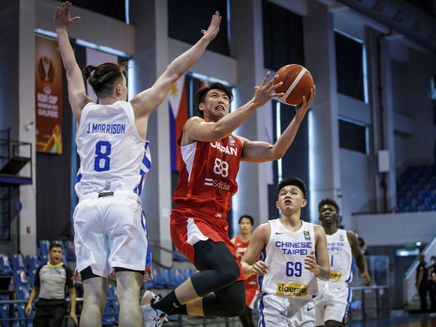 バスケットボール日本代表はアジアカップ予選2戦目、攻守に強度で上回りチャイニーズ・タイペイに完勝